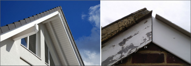 Fascias compared.